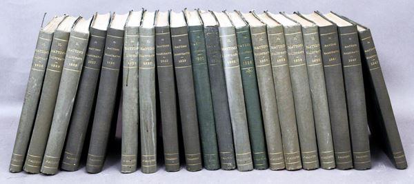 Il Mattino illustrato, venti volumi, anni '20 /'30/'40.