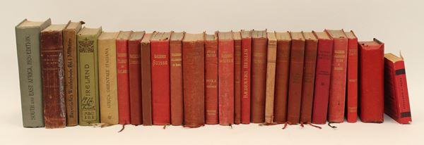 Lotto composto da ventiquattro guide dei primi del '900.