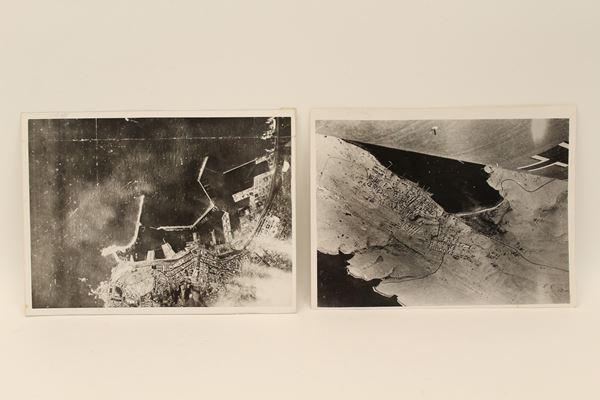 Lotto composto da due fotografie originali del periodo fascista.