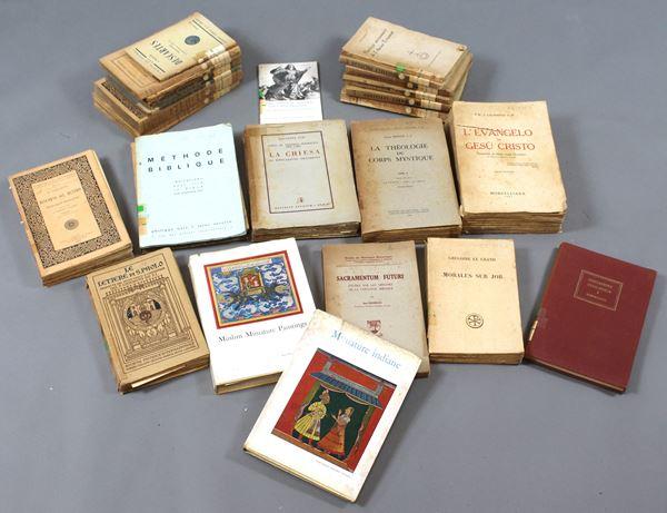 Lotto di 24 libri diversi